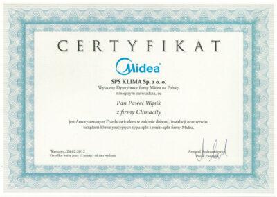 Autoryzowany Przedstawiciel systemów klimatyzacyjnych typu Split i Multi-Split marki Midea
