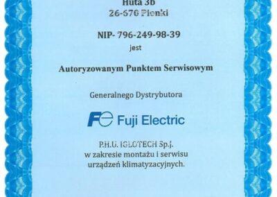 Autoryzowany punkt serwisowy Fuji Electric2