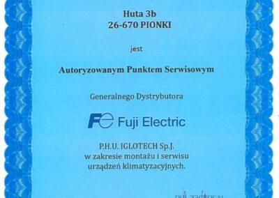 Autoryzowany punkt serwisowy Fuji Electric