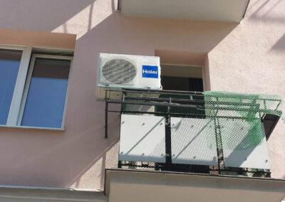 Klimatyzacja do bloku
